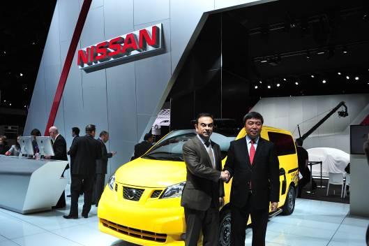 2012年4月4日纽约车展上NV200出租车版正式发布,该车型将会成为未来10年该市唯一指定更换的出租车型
