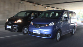 都市全能好帮手 试驾体验郑州日产NV200