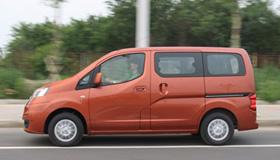 载物拉人两不误 测试郑州日产NV200尊贵型